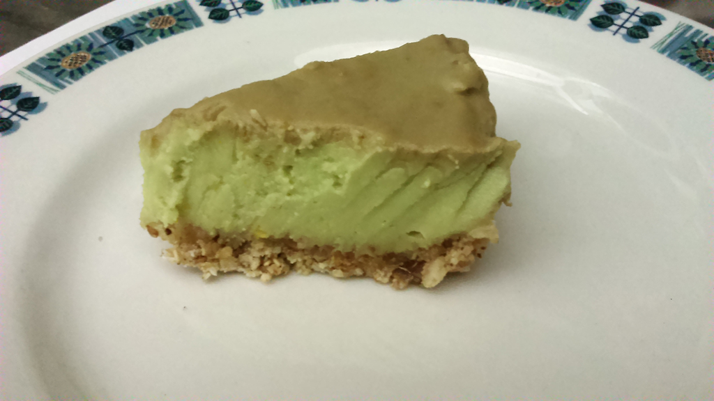 Vegan Avocado Cheese cake