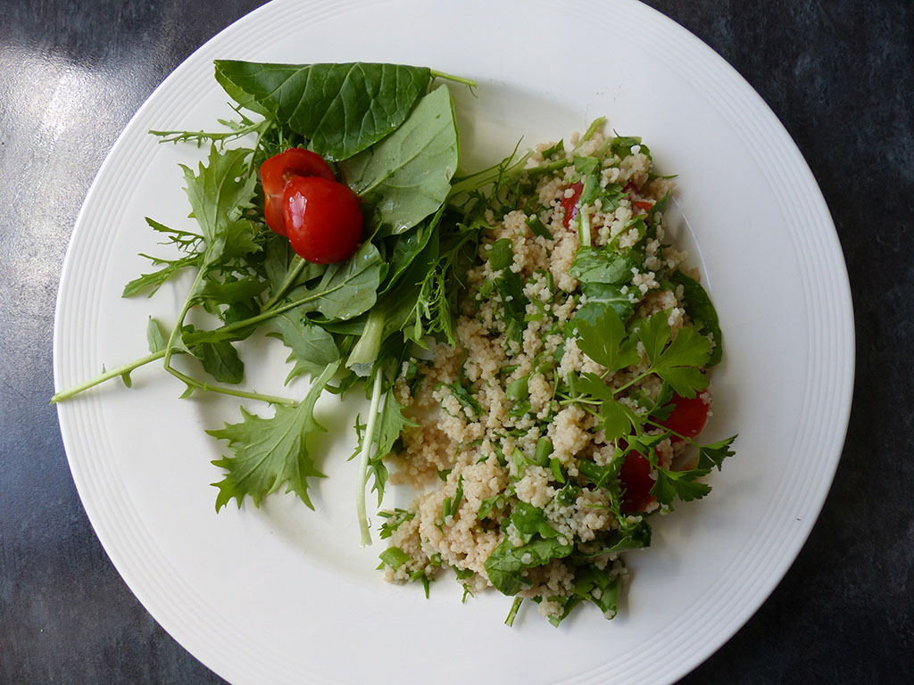 Couscous Salad with parsley