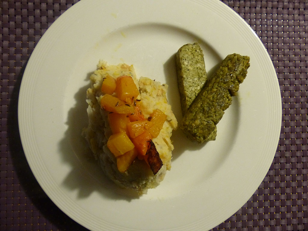 Pumpkin Potato Dish (Dutch style..)