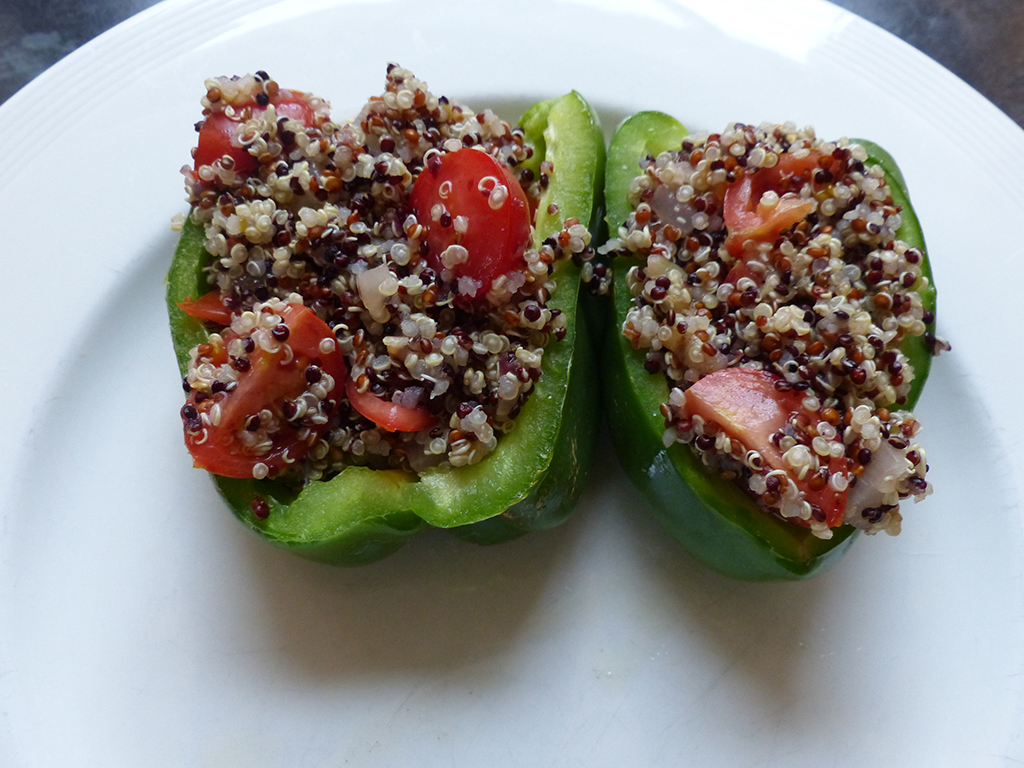 Stuffed Bell Pepper with Quinoa