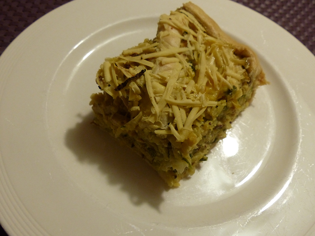 Vegetarian Turnip Quiche