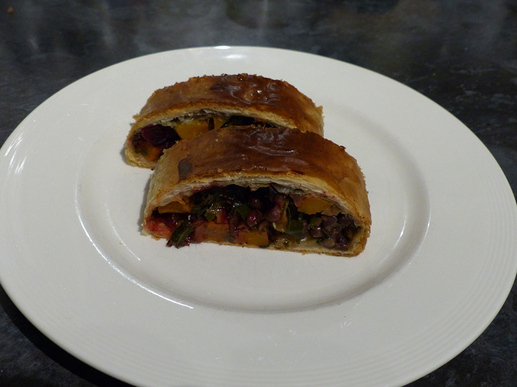 Roast Vegetable Wellingtons
